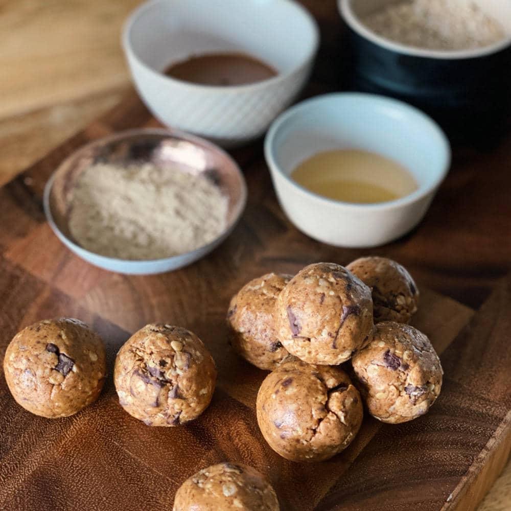 Katies Protein Cookie Dough Balls